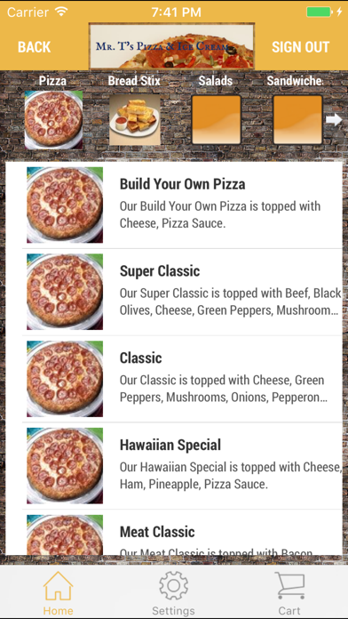 Mr T's Pizza & Ice CreamScreenshot of 3