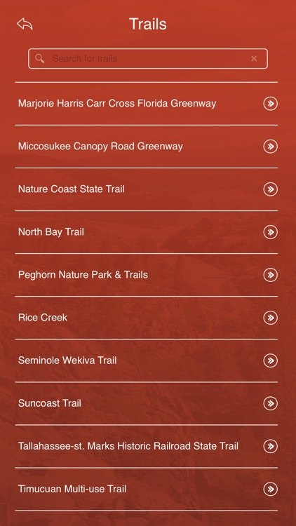Florida State Parks, Trails & Campgrounds