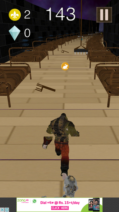 3D Super Run for Suicide Fighters screenshot three