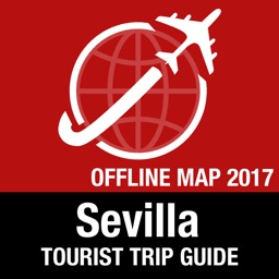 Sevilla Tourist Guide + Offline Map