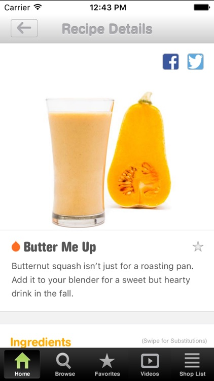 101 Smoothie Recipes screenshot-1