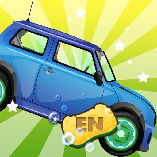 私の車を洗って-CN幼児ゲーム、母と子の遊び-EN