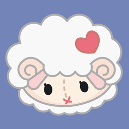 Little Sheep and his Rabbit Sidekick - Stickers