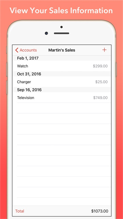 Sold: Sales & Commission Tracking for Salespeople screenshot-3