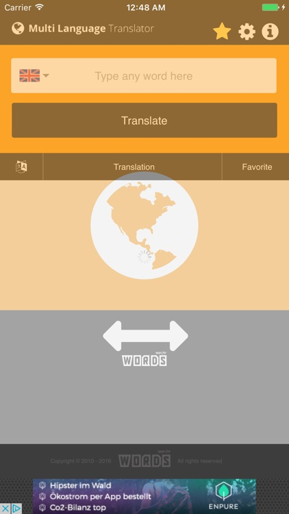 a! Multi Languages Translator