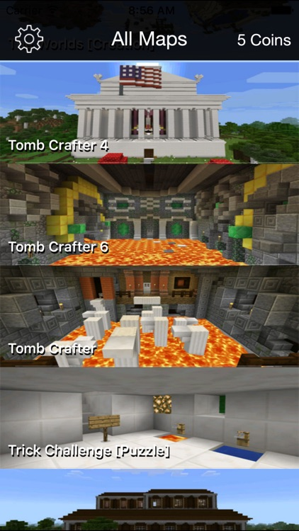 Best Maps for Minecraft PE - One Touch Install