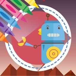 Robots Coloring Book - Free