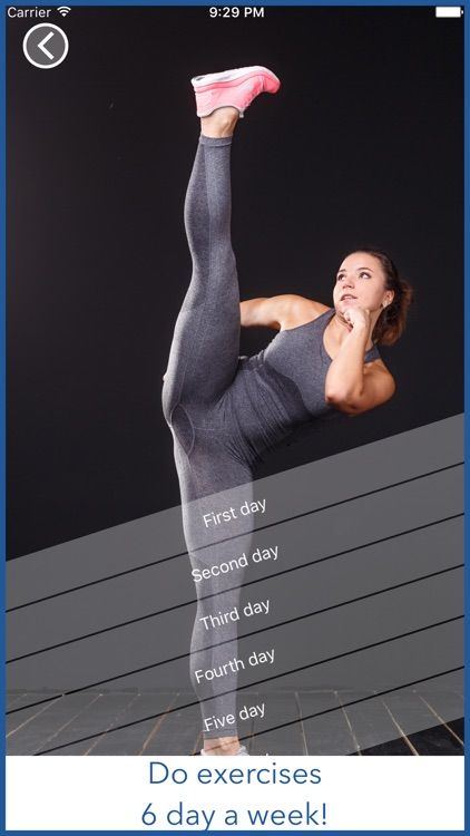 Do The Splits. Stretching exercises. Training Plan screenshot-3