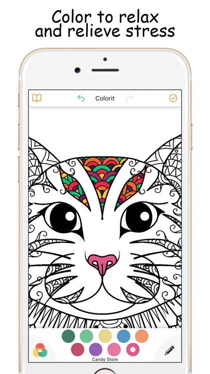 Colorpify - Coloring Book Therapy for Adults