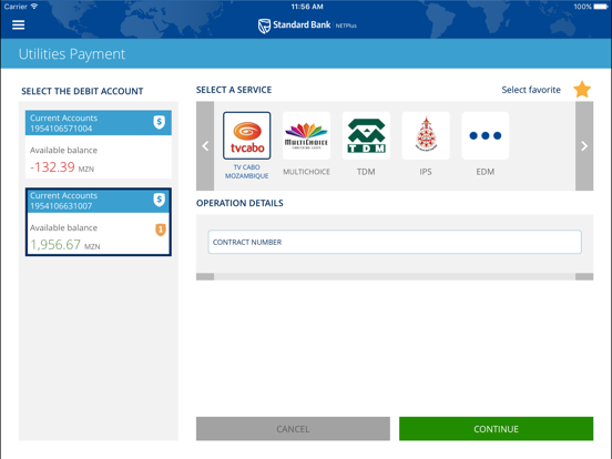 Standard Bank MZ NETPlus APP by Standard Bank MZ (iOS
