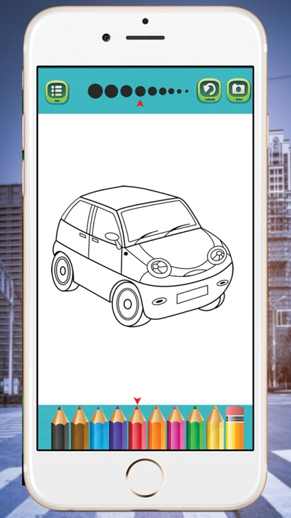 Vehicles  coloring book Kids