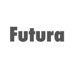 Keyboard of Futura Font: Artistic Style Keys for iOS 8