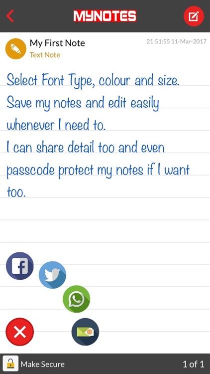 MyNotes EZ Journal