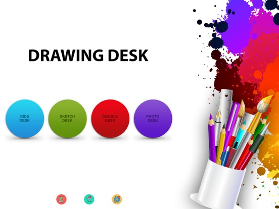 Drawing Desk: Draw,Paint,Color & Sketch board Screenshot