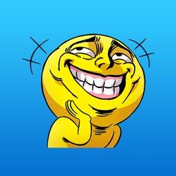Mr.Powwaw Emoticon Stickers 4