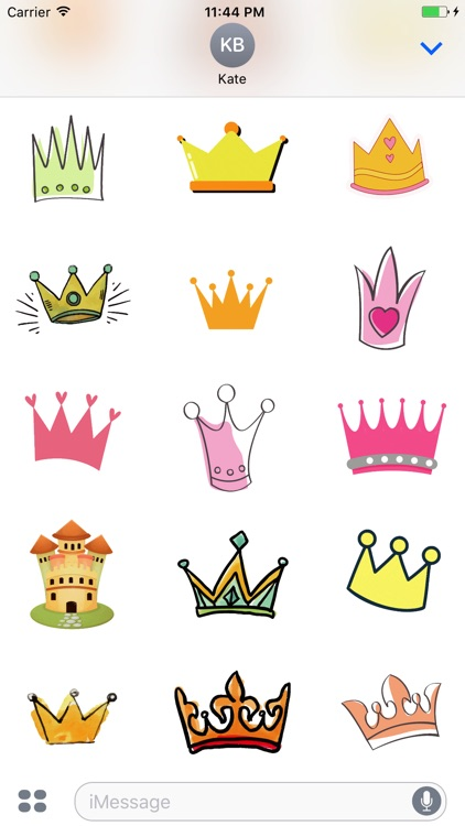 Animated Cute Crown Stickers screenshot-4