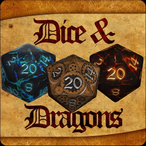Dice & Dragons - RPG Dice Roller