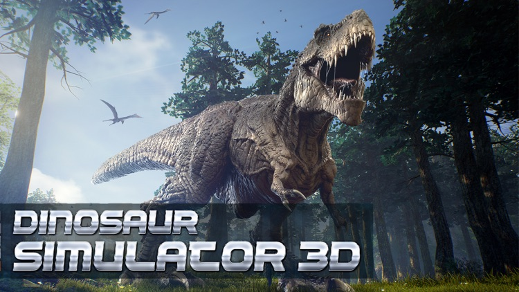 Dinosaur Simulator 3D: Free Jurassic Commando Game screenshot-0