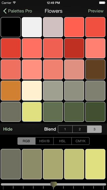 Palettes screenshot-4