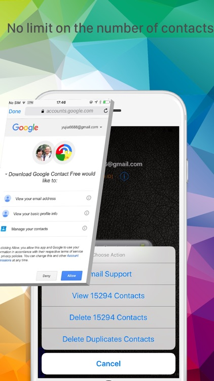 Download Contacts for Google screenshot-3