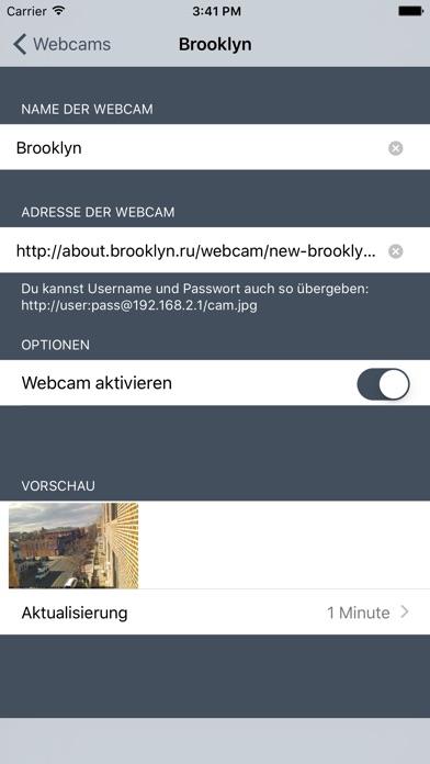 Webcams Lite - deine Kameras im BlickScreenshot von 4