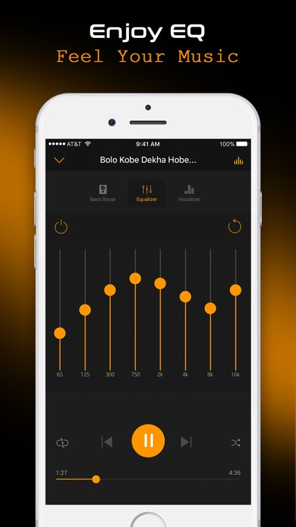 Cloud Music - Music Player & Bass Booster screenshot-3