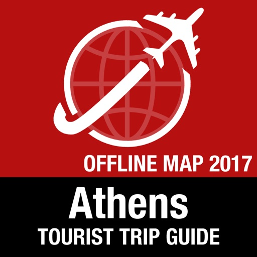 Athens Tourist Guide + Offline Map