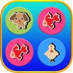 动物记忆配对游戏 - 脑教练