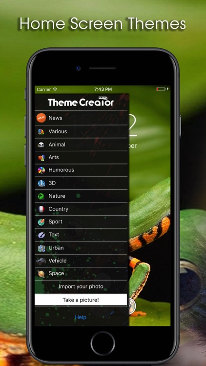Theme Creator - Pimp your screen - Custom themes screenshot-3