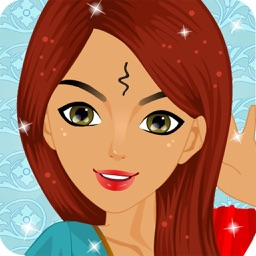 Indian Princess Salon Fashion Dressup and make up