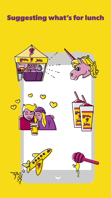 Booster Juice® Stickers