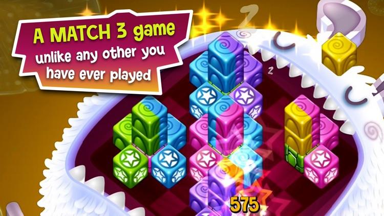 Cubis Creatures: Match 3 Games screenshot-0