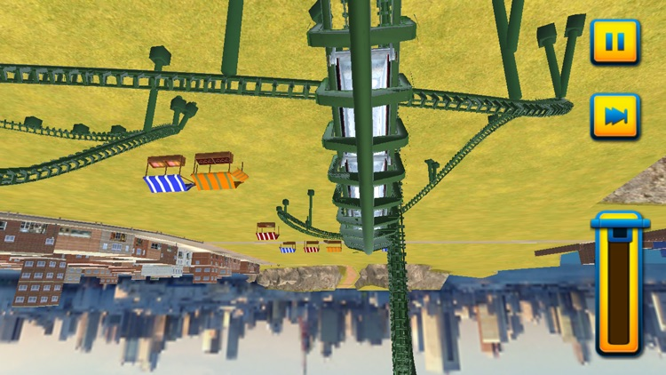 3D Roller Coaster Rush Simulator