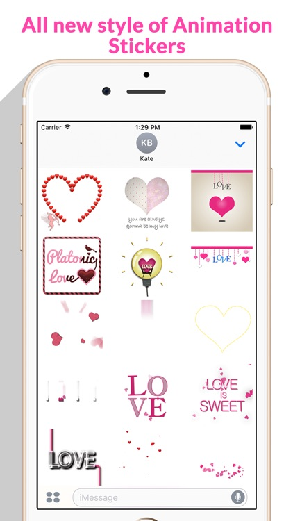 Lovely Animated Stickers screenshot-2