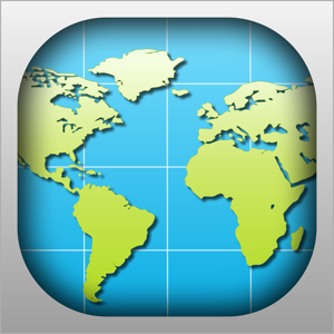 World Map 2017 app