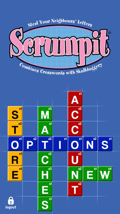 SCRUMPIT - a scrabble / crossword style board game screenshot-4