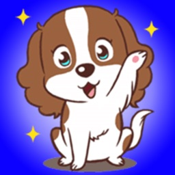 Lovely Kind Puppy - Funny Dog Stickers!!!