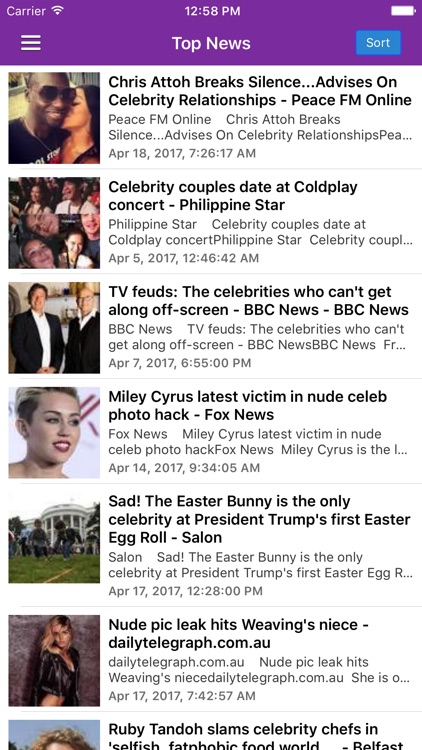 Celebrity Gossip Breaking News