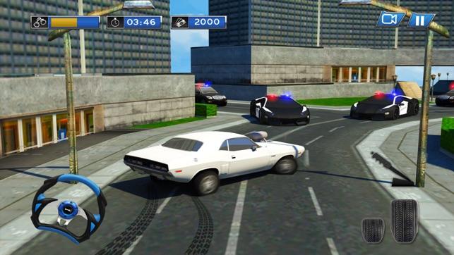 Công an đuổi theo Ô tô Bỏ trốn:Nóng Đua xe hưng 3D