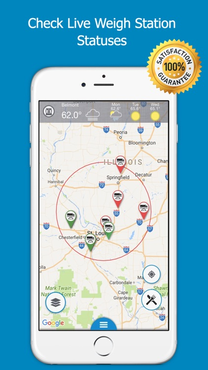 Road Hunter - Truck Stops Finder and GPS