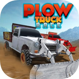 Plow Truck Race Free - Offroad Monster Truck Race