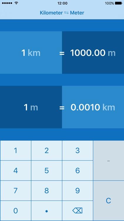 Kilometers to Meters   km to m