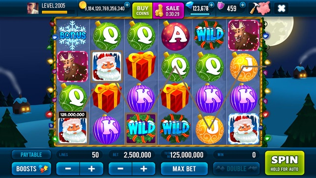 Rich Santa Slots: Vegas Casino Screenshot