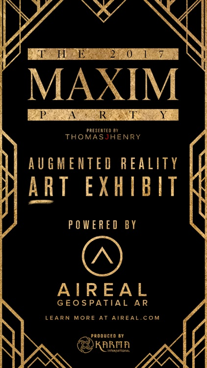 2017 Maxim Party ARt Exhibit
