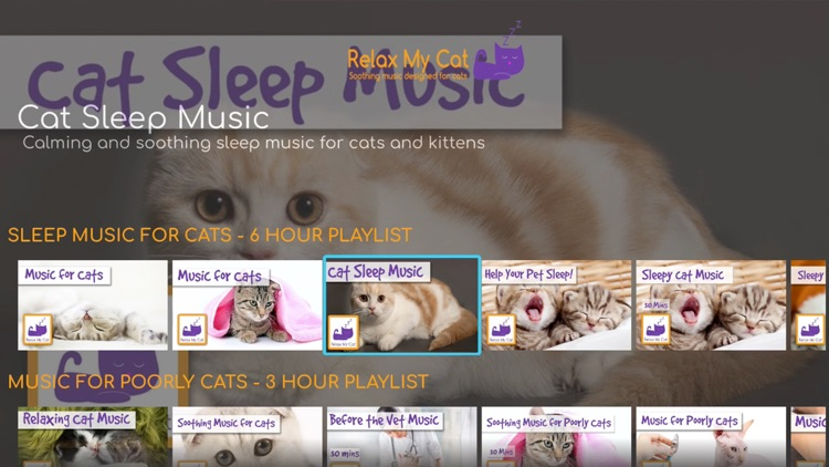 RelaxMyCat - Relaxing Music for Cats