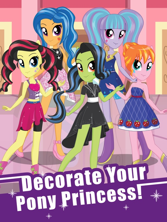 Pony Dress Up Game for Girls - My Little Equestria для iPad