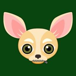 Cream Chihuahua Emoji Stickers