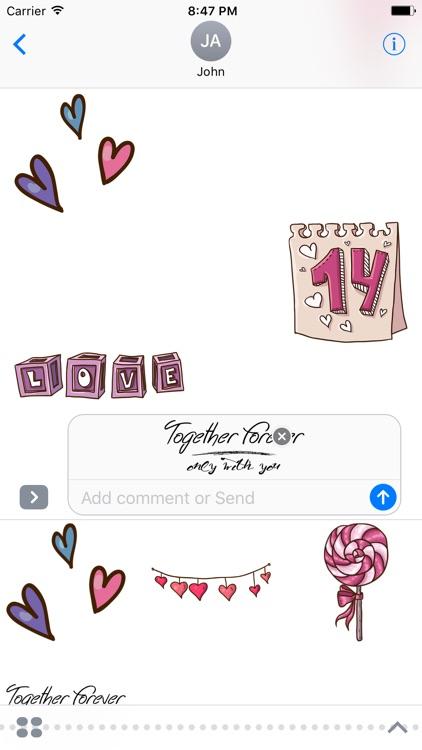 Love Story - Fc Sticker