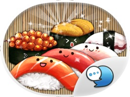 Japanese Food Stickers for iMessage