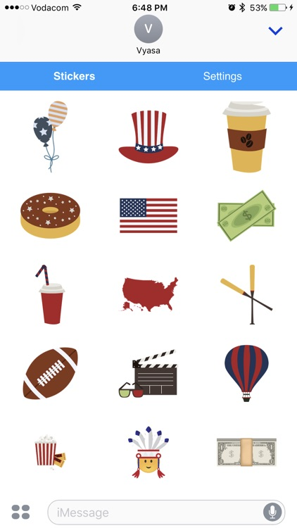 American Emoji - Great Emoticons for Texting